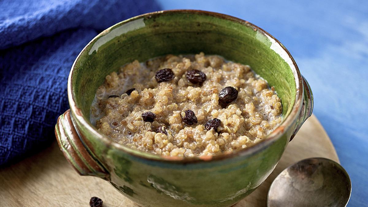 Spiced breakfast quinoa