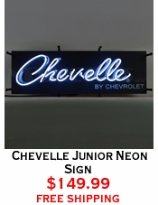 Chevelle Junior Neon Sign