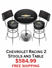 Chevrolet Racing 2 Stools and Table