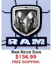 Ram Neon Sign