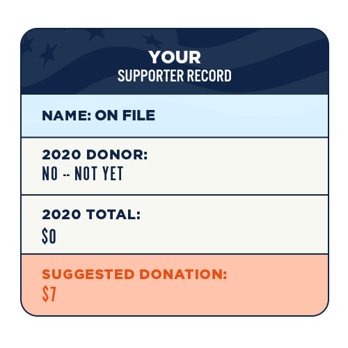 Your supporter record