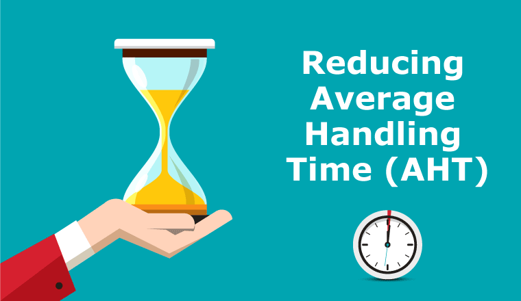 A picture of reducing average handling time (AHT)