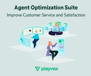 Playvox agent optimization suite ad