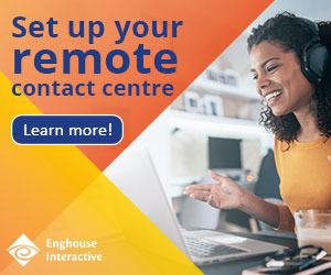 Enghouse remote contact centre ad