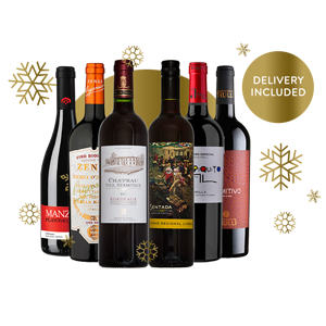 Gems of Europe - Festive Case of 6 RedWines