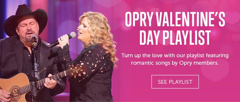Opry Valentine's Day Playlist