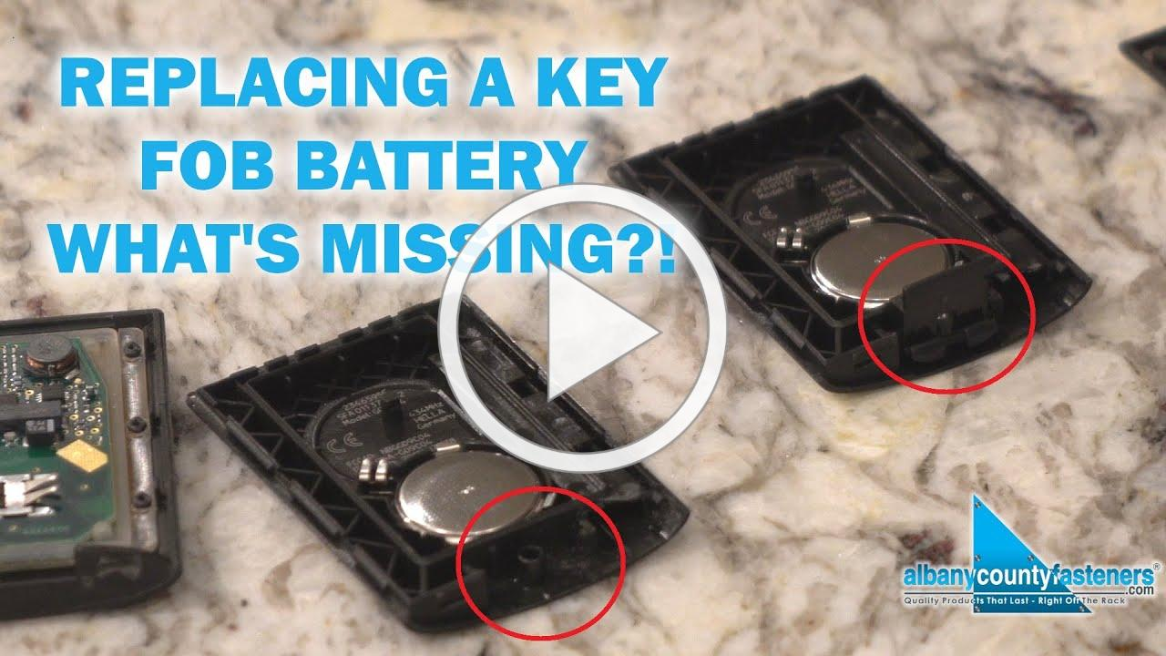 Quick Tip For Replacing Key Fob Batteries | Corvette C7, GMC, Chevy
