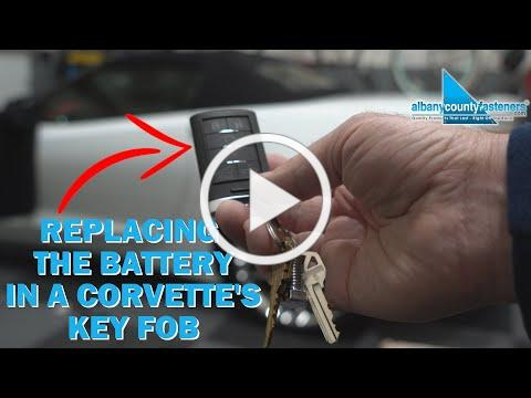 How to Replace The Battery In a Car''s Key Fob | Corvette C7, GMC, Chevy