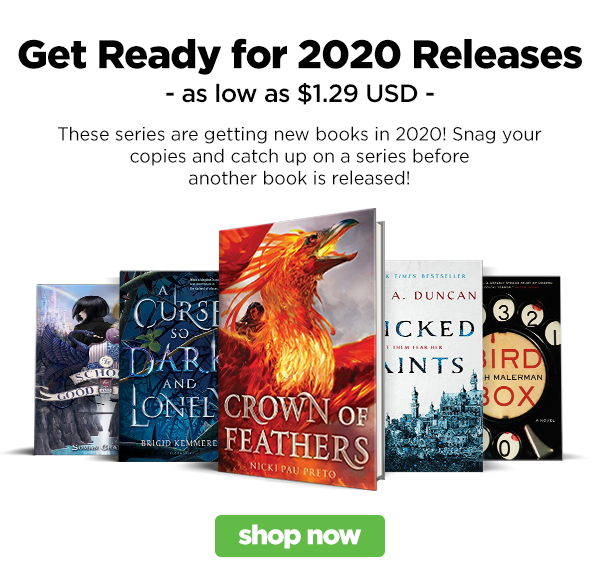 These series are getting new books in 2020! Snag your copies and catch up on a series before another book is released!