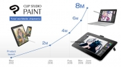 Clip Studio Paint Reaches 8 Million Copies Worldwide