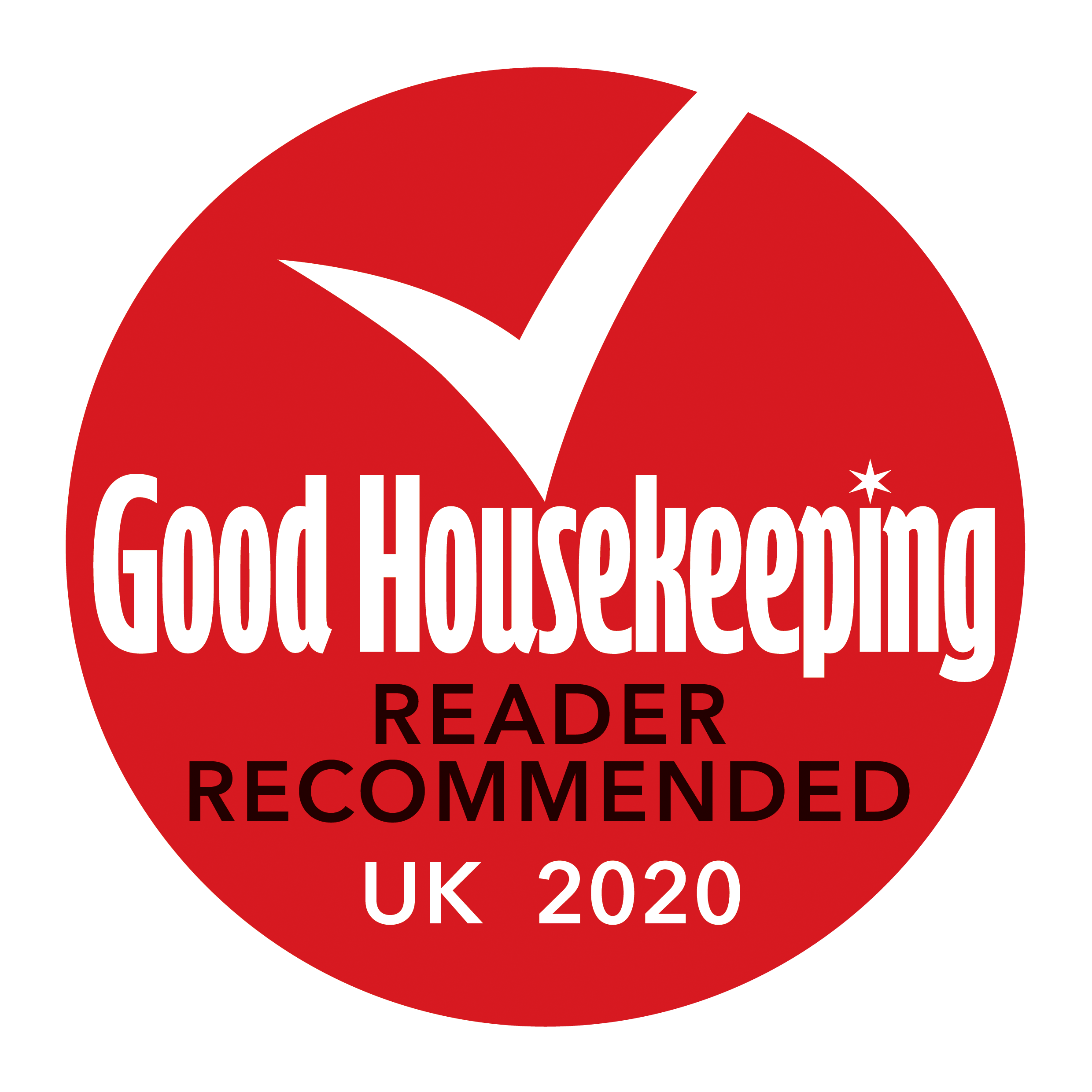 Good Housekeeping recommended