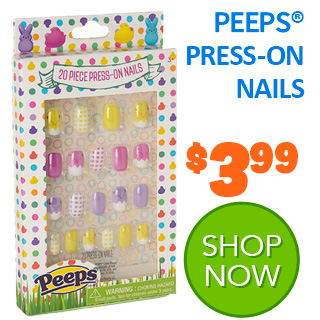 NEW for 2020 - PEEPS PRESS-ON NAILS