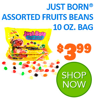 Just Born Assorted Fruits Jelly Beans