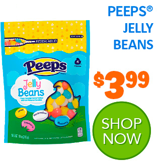 NEW for 2020 - PEEPS Marshmallow and Fruit Jelly Beans