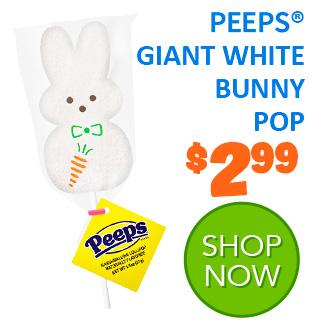 NEW for 2020 - PEEPS GIANT WHITE BUNNY POP