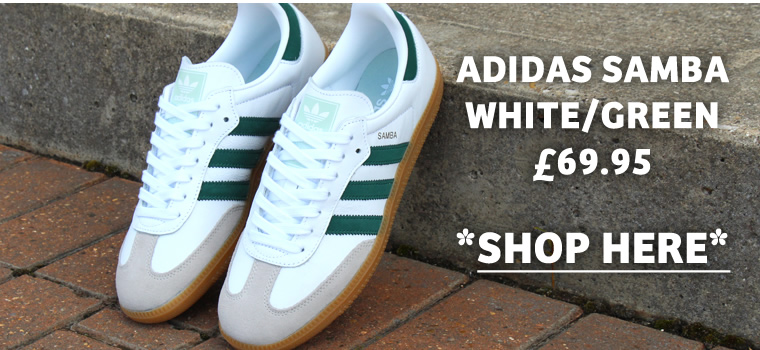Adidas Samba White Green