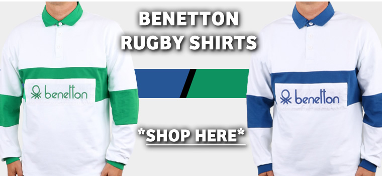 Benetton Rugby Shirts