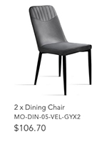 2 x Dining Chair