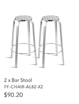 2 x Bar Stool