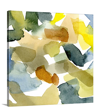 Watercolor Palette I  by Emma Caroline