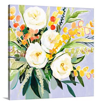 Garden Rose Bouquet II  by Victoria Borges