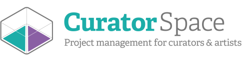CuratorSpace: Project management tools for curators & artists