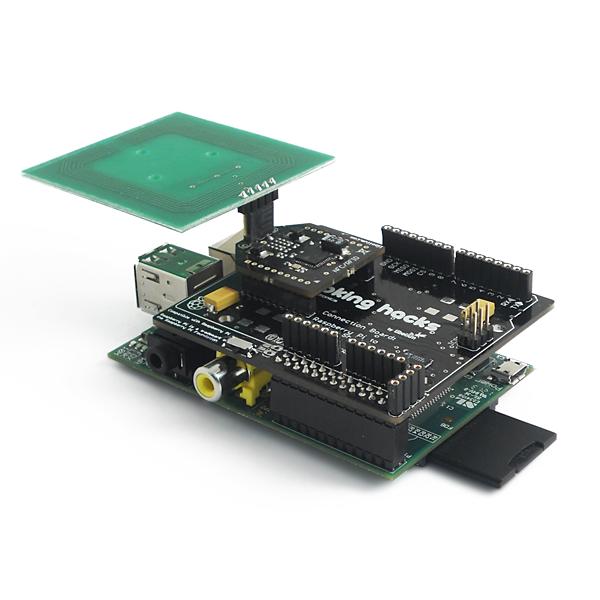 RFID 13,56 Mhz shield for Raspberry Pi