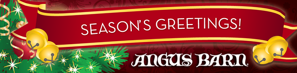 Seasons Greetings from the Angus Barn