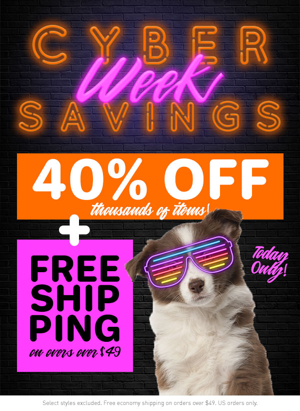 Cyber Week Savings!