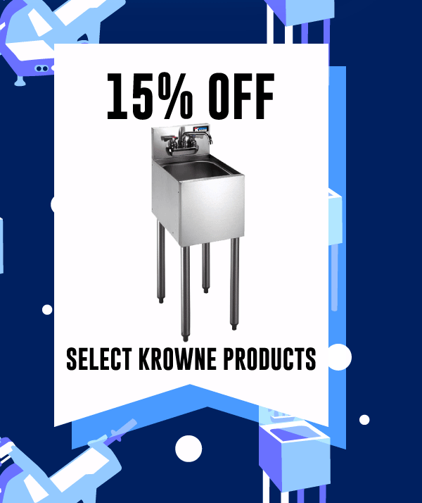15% off Select Krowne