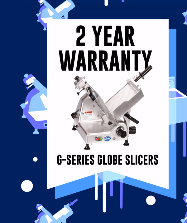 2 Year Warranty on Globe G-Series