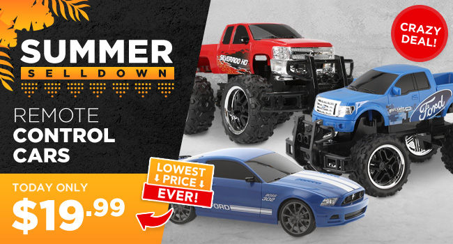 Remote Control Cars - Summer Sell Down!