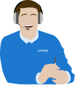 Customer support rep