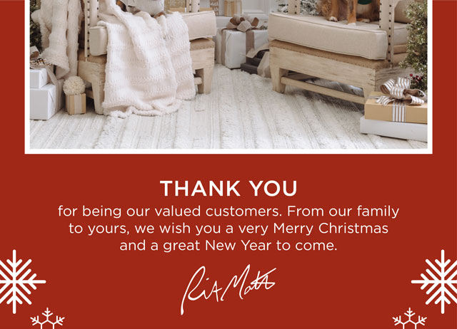 Thank you for being our valued customers!
