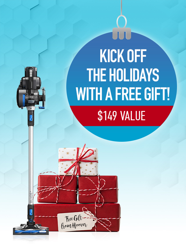 Kick off the holidays with a free gift