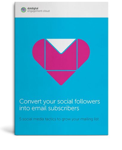 Download the Convert your social followers into email subscribers cheatsheet