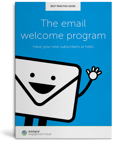 Download the Email welcome program guide