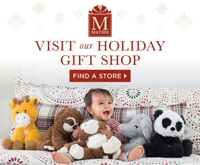 Visit our Holiday Gift Shop - Find a Store