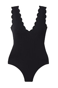 Antibes Scalloped One Piece