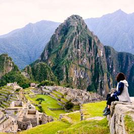The Inca ruins