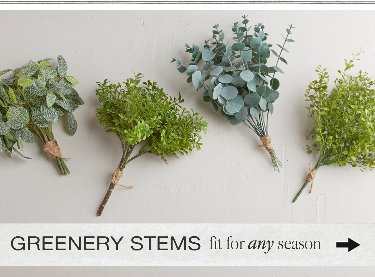 Greenery Stems fit for any season
