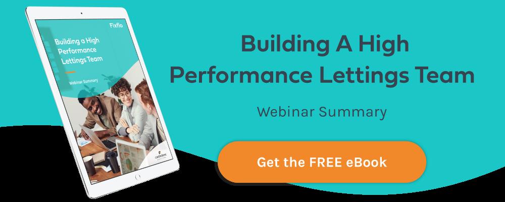 Building High Performing Lettings Team eBook