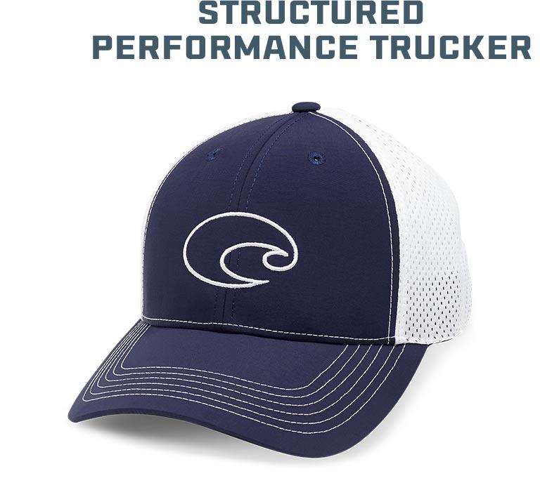 Costa Structured Performance Trucker