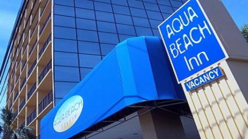 Aqua Beach Inn Myrtle Beach exterior