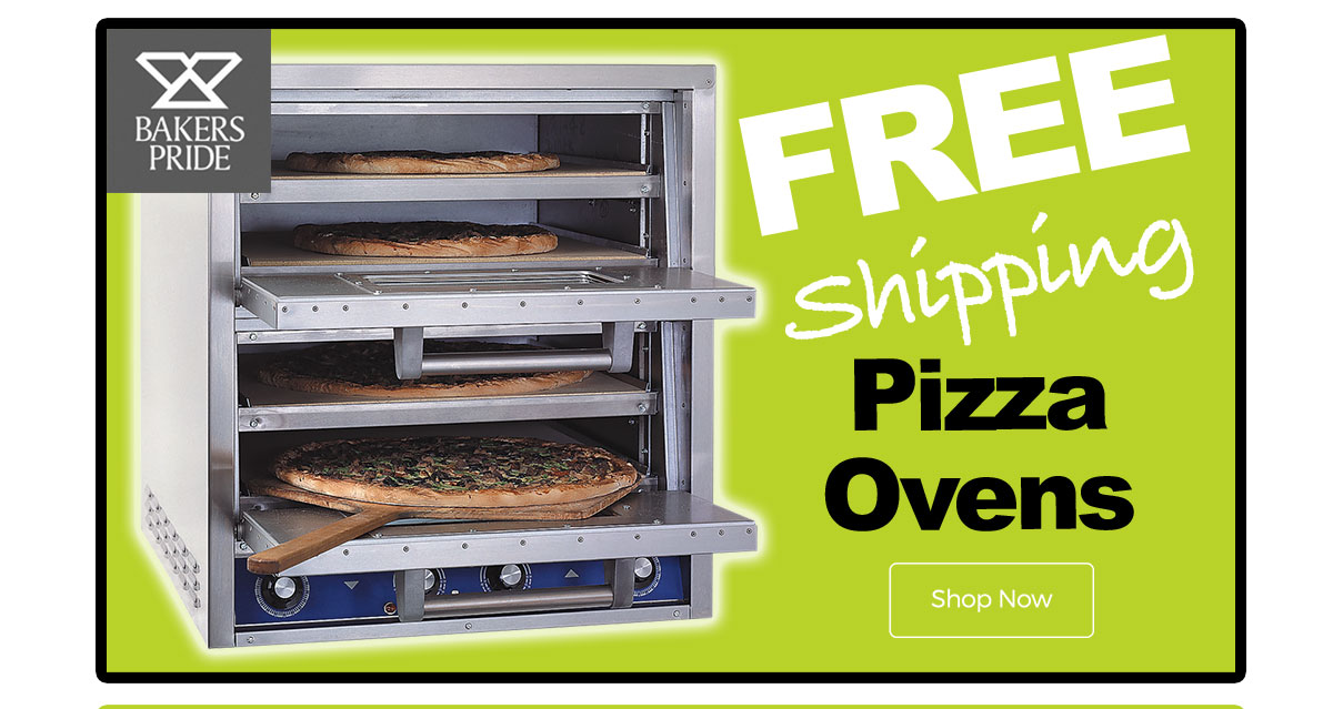 Bakers Pride Pizza Ovens - Free Shipping