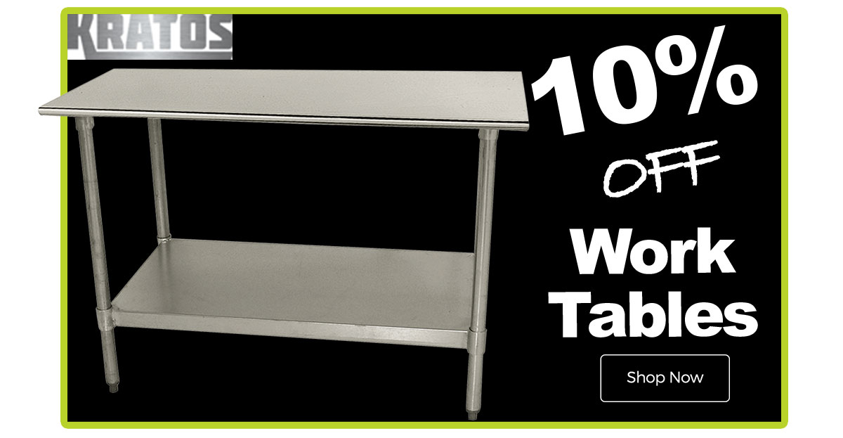 Kratos Work Tables now 10$ OFF!