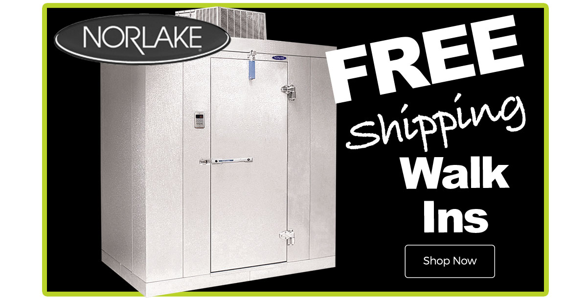 Norlake Walk-Ins Now Free Shipping