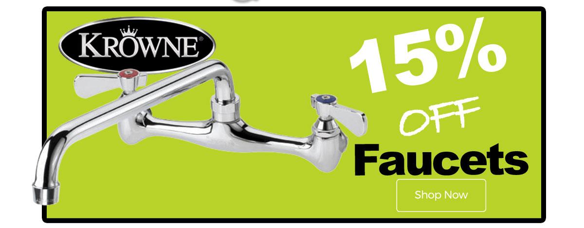 Krowne Faucets 15% Off