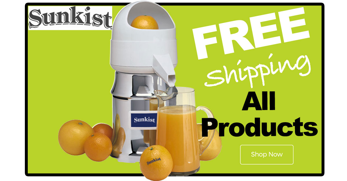 All Sunkist Products now Free Shipping