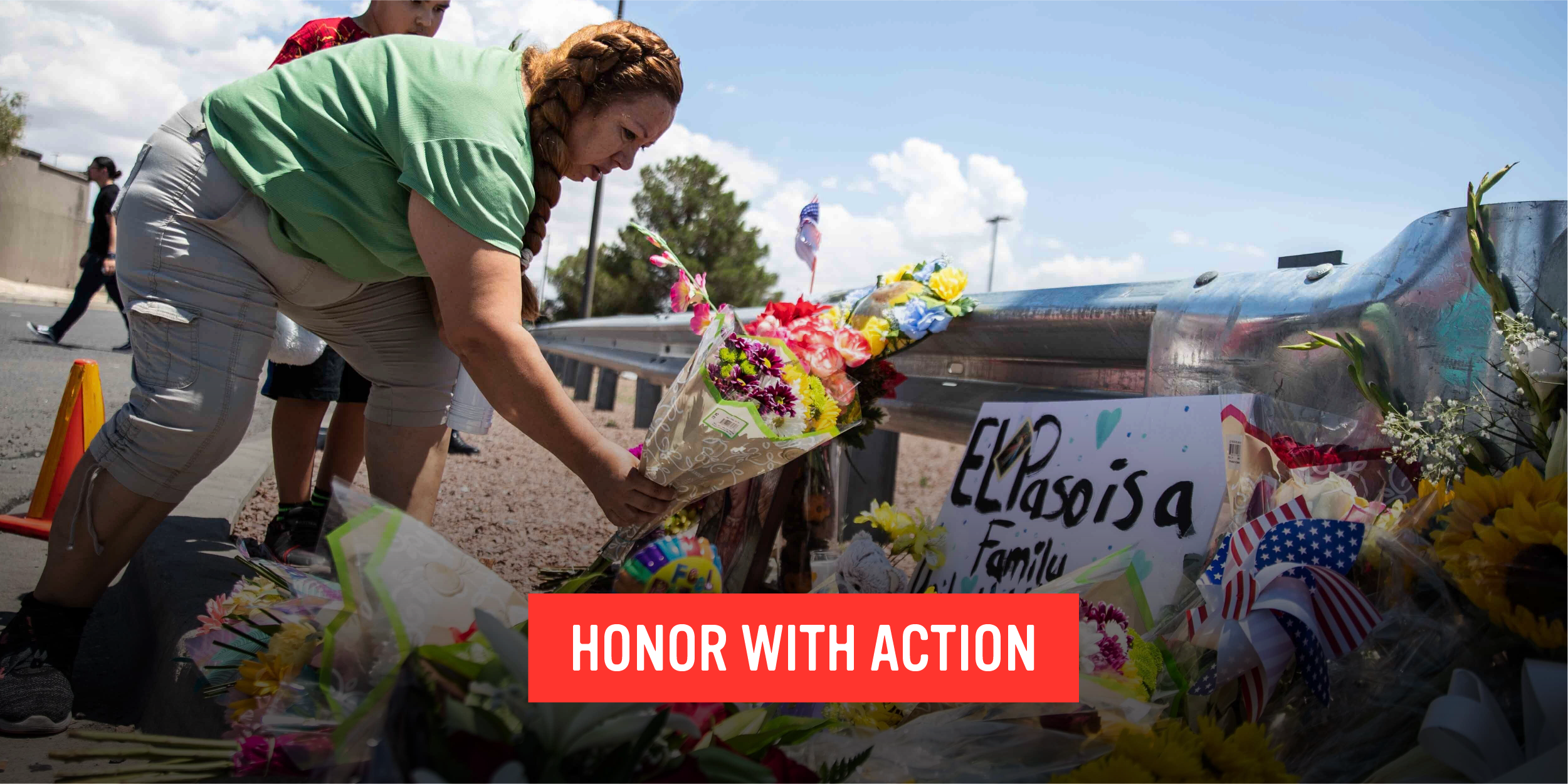 Honor victims and survivors of gun violence with action.
